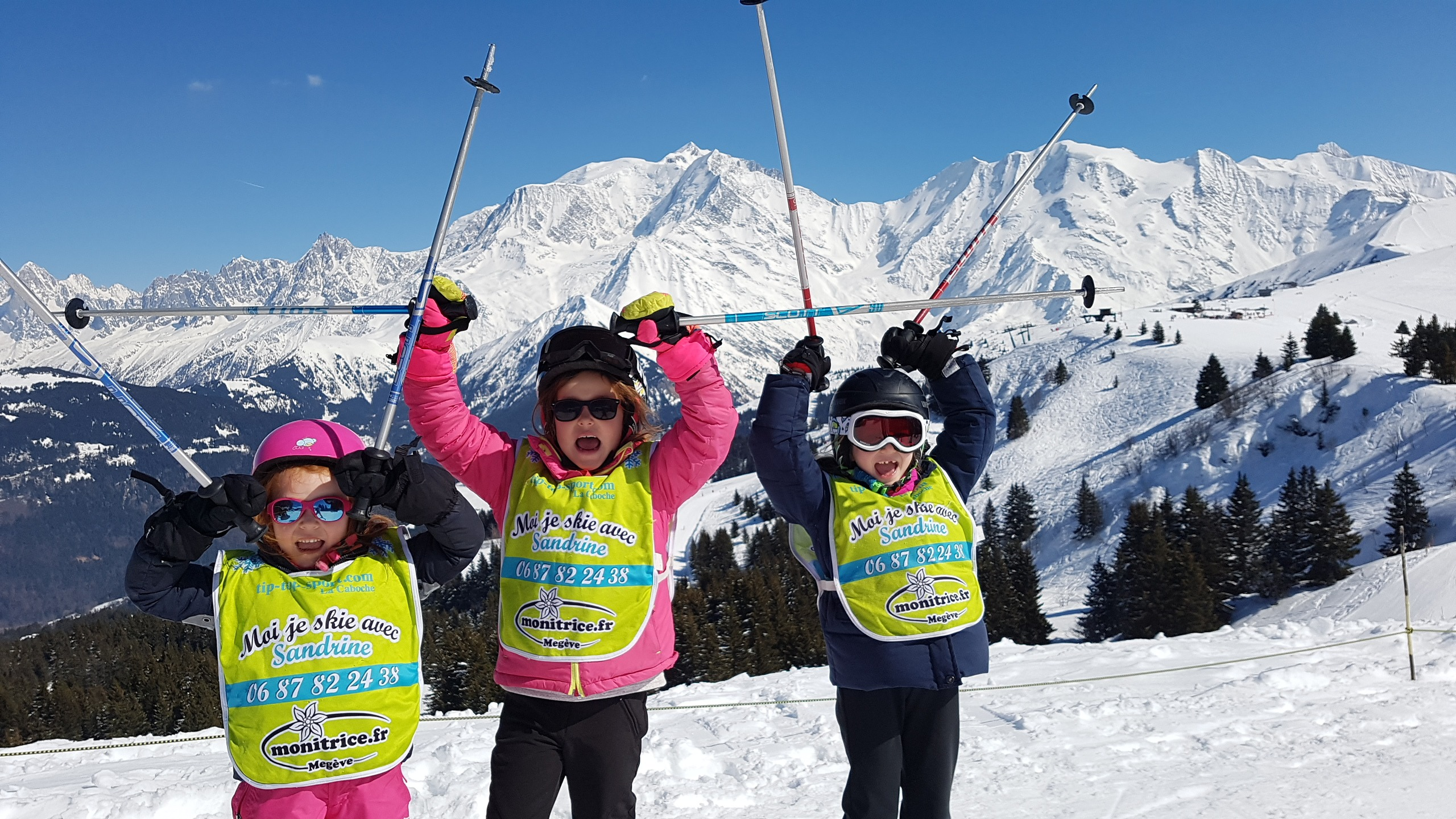 children top mont blanc