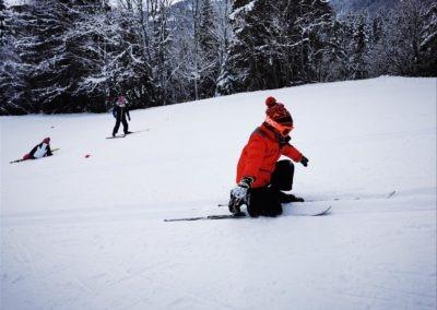 ski de fond exercice