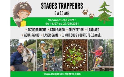 Stages TRAPPEURS Été 6/10 ans