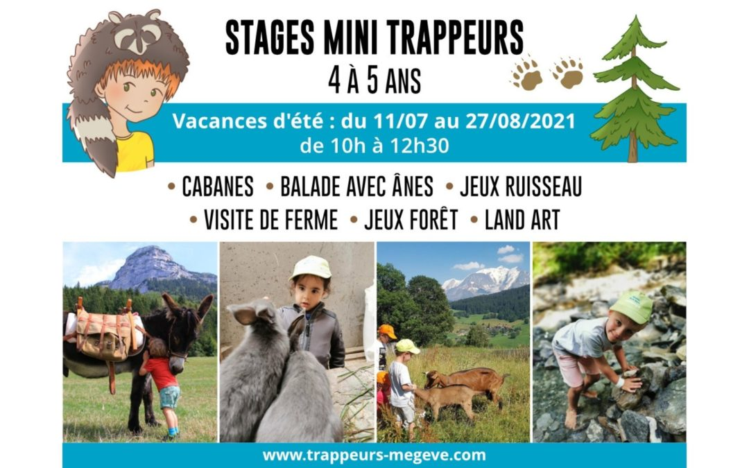 MINI TRAPPERS 4/5 years old