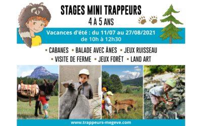 Les MINI TRAPPEURS 4/5 ANS